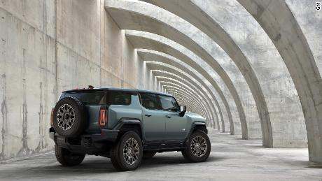 The 2024 GMC Hummer SUV is a large 830-horsepower electric family hauler
