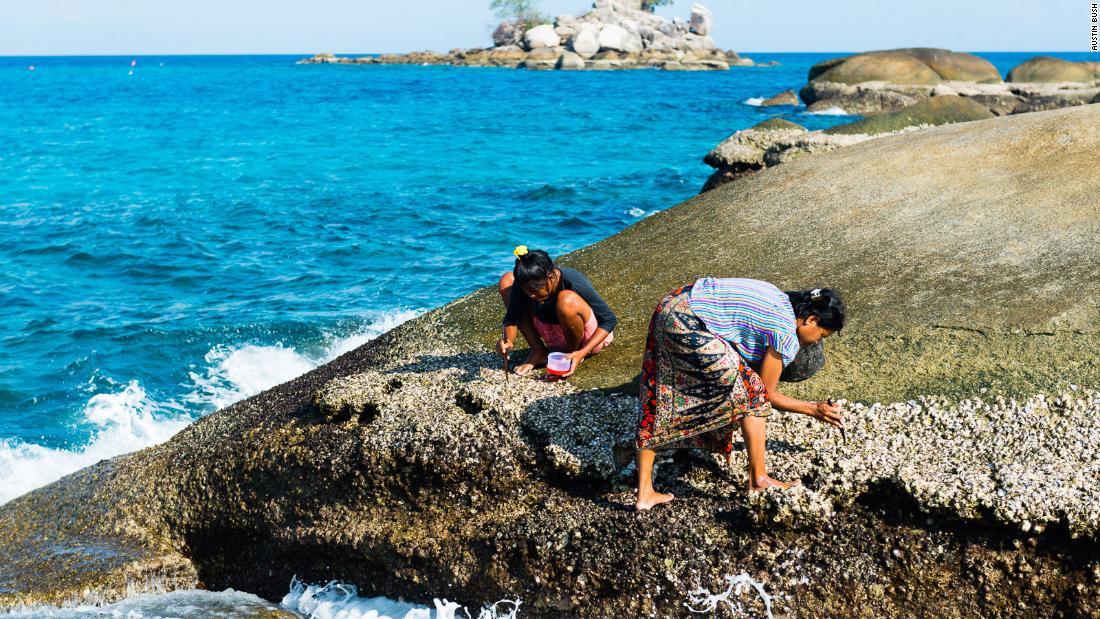 Thailand's 'sea people' adapt to life on land