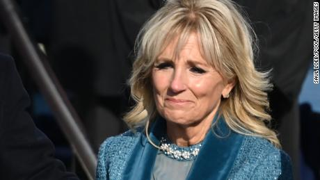 Jill Biden's first ladyship is a long way from cookie bake-offs and state dinners