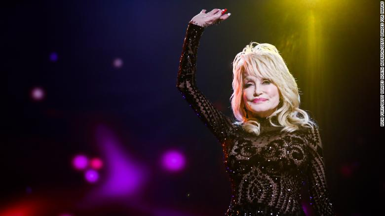 Dolly Parton got her second dose of the Covid-19 vaccine