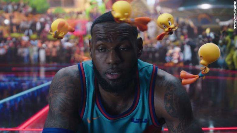 LeBron James morphs into Looney Tunes character in 'Space Jam: A New Legacy'