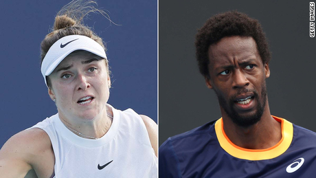 Svitolina and Monfils have been dating since 2018.