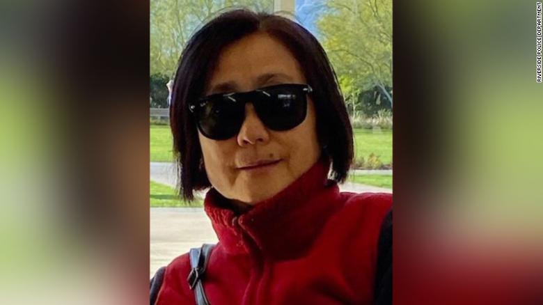 An Asian woman was fatally stabbed while walking her dogs in California, but police say they don't suspect a hate crime