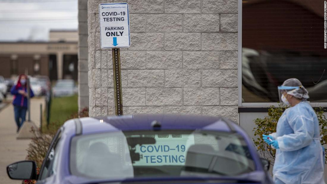 Michigan adds more than 8400 new Covid-19 cases in one day the most since December – CNN