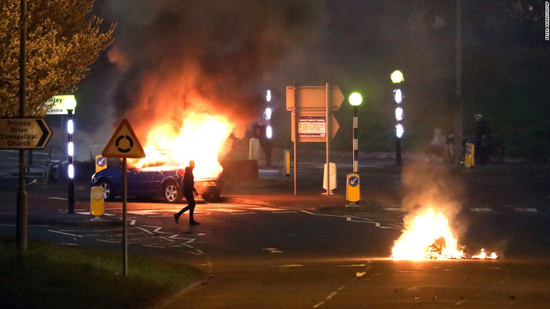 Northern Ireland sees three nights of violence as tensions rise