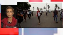 CNN's Clarissa Ward is in Myanmar covering the protests.