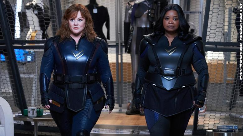 'Thunder Force' teams Melissa McCarthy and Octavia Spencer in a weak superhero spoof