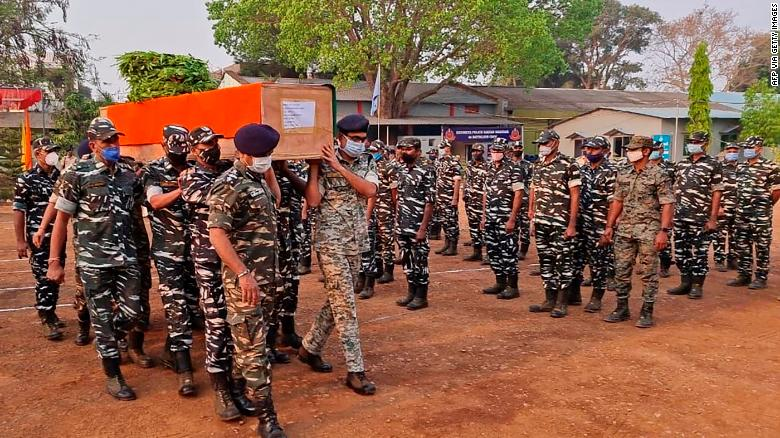 At least 22 Indian security personnel killed in clash with Maoist insurgents