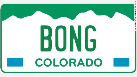 Colorado is auctioning off pot-themed license plates until '420'