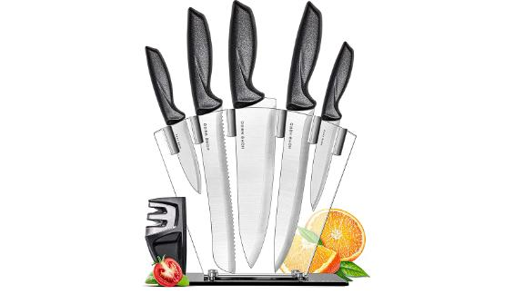 Home Hero Chef Knife 7-Piece Set
