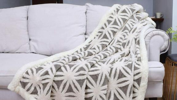 Lomao Sherpa Fleece Blanket