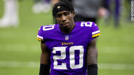 Minnesota Vikings cornerback Jeff Gladney