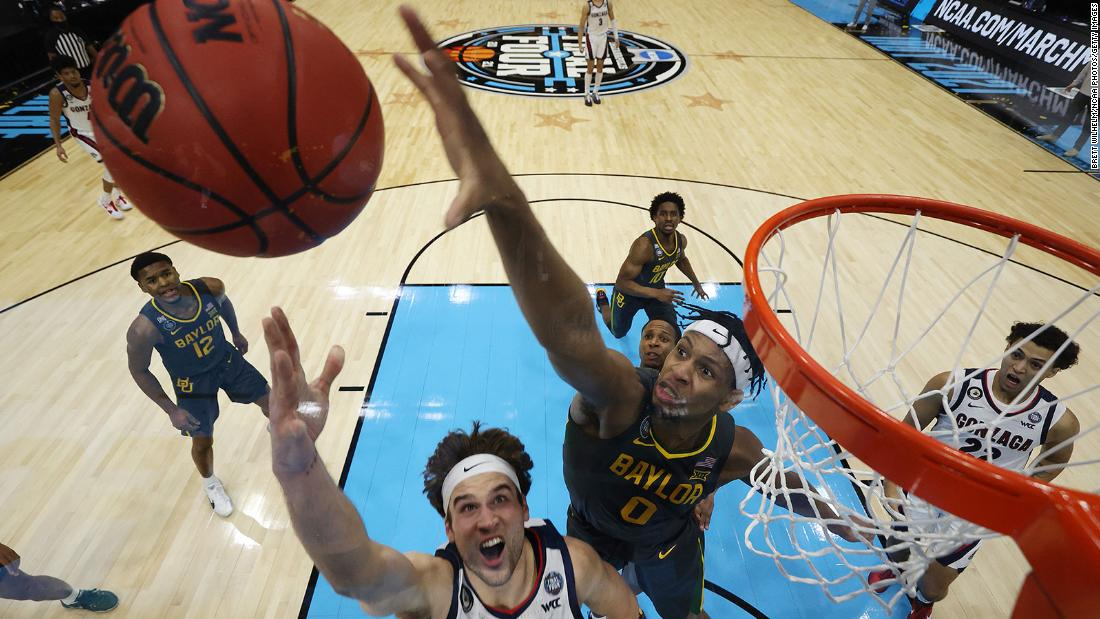 Baylor routs Gonzaga to win its first NCAA men's basketball title