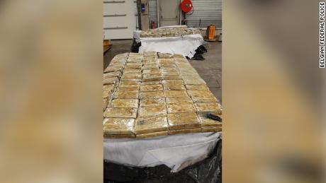 Police in Belgium have seized 27.64 tons of cocaine at the port of Antwerp in the the six weeks since February 20.