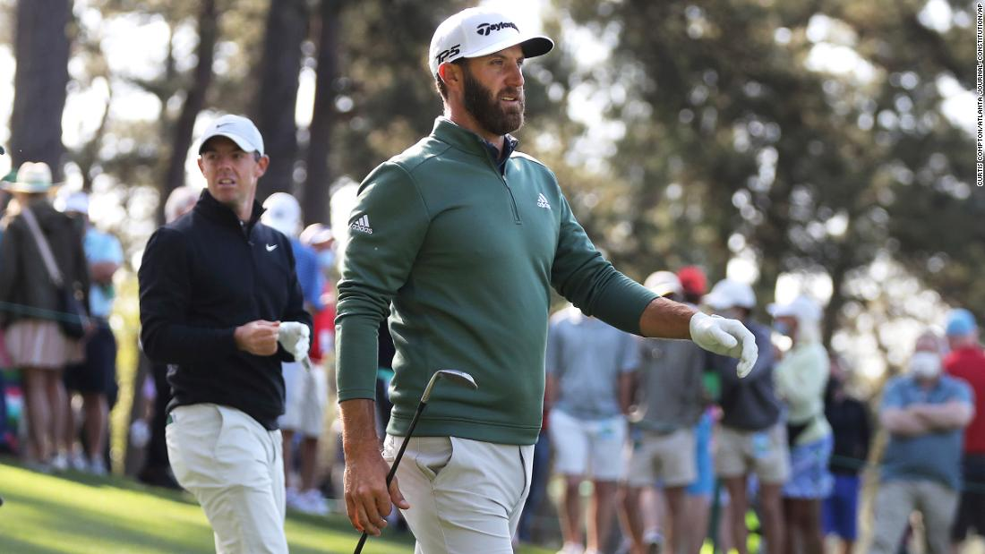 Dustin Johnson to serve pigs in a blanket, filet mignon at Masters Champions Dinner