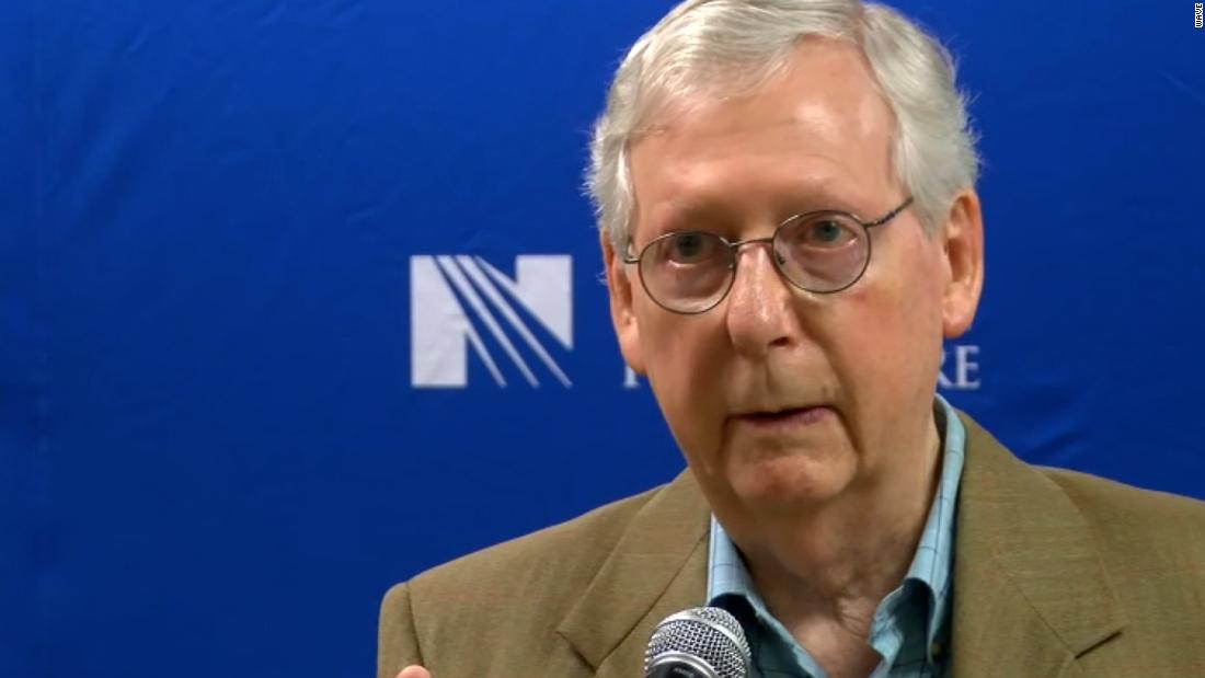 McConnell sends letter to Education secretary demanding removal of the 1619 Project from federal grant programs – CNN