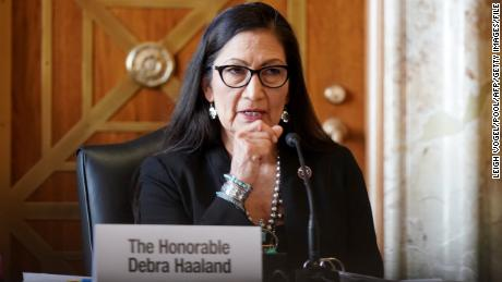 "Interior Secretary Deb Haaland said efforts to investigate missing or killed Indigenous people will be ""all hands-on deck."""