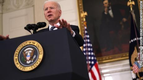Biden: It's 'reassuring' to see companies speaking up about restrictive voting laws