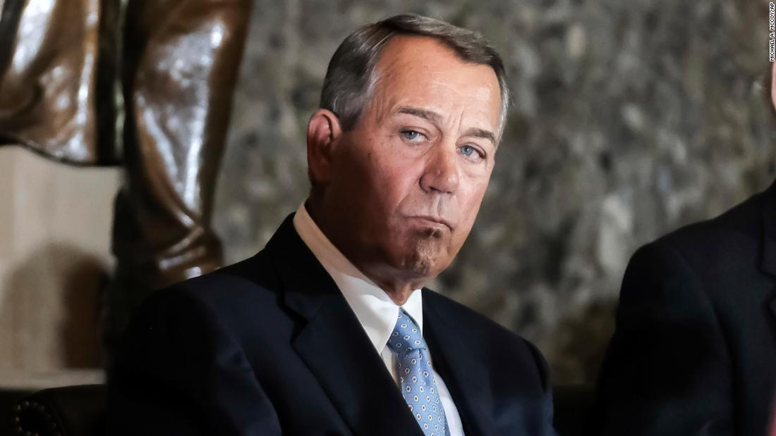 Boehner: Trump 'abused the loyalty and trust' voters placed in him