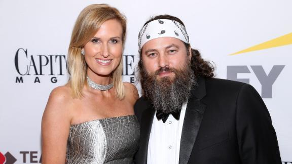 "Korie Robertson and Willie Robertson of the reality series ""Duck Dynasty"" attend the Capitol File 58th Presidential Inauguration Reception at Fiola Mare on January 19, 2017 in Washington, DC."