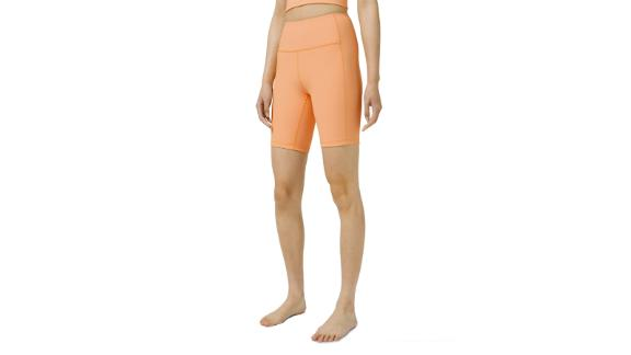 Women's Ribbed Contoured High-Rise Short 8-Inch