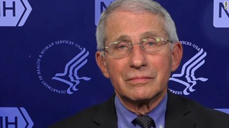 Fauci: Almost a race between vaccinations and the surge