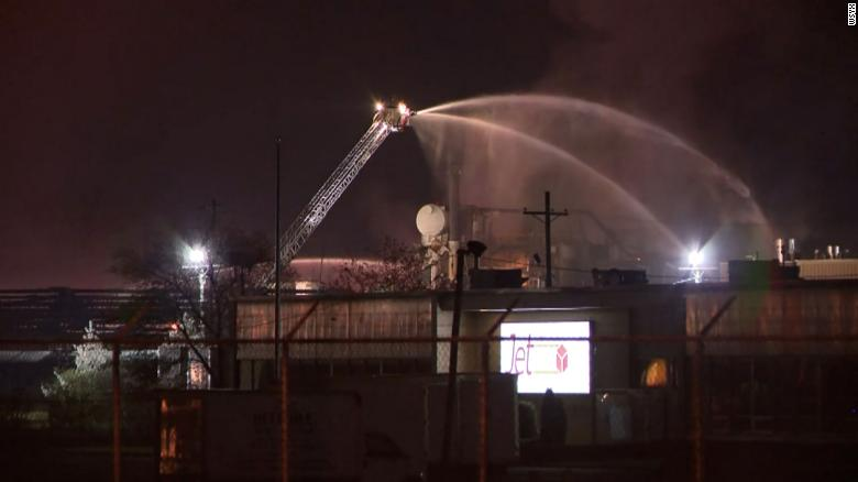 Paint plant explosion leaves one person unaccounted for and several injured