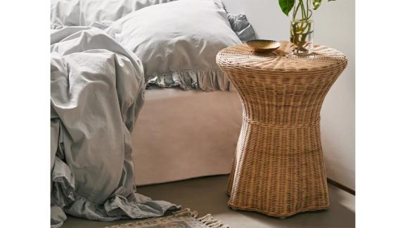 Pierce Wicker Side Table