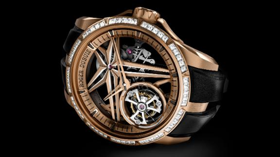 Roger Dubuis Excalibur Glow Me Up.