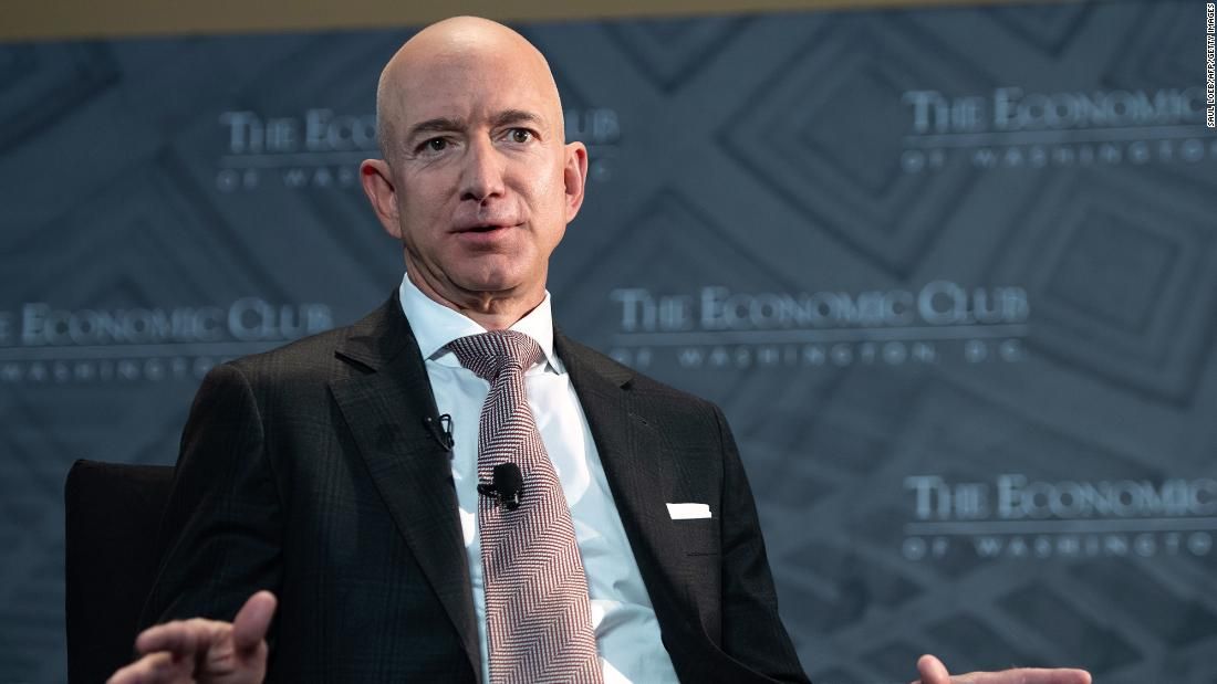 Jeff Bezos endorsed higher corporate tax rates. But it won't cost him much