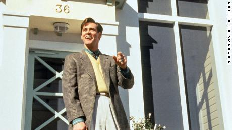 "Jim Carrey in ""The Truman Show,"" 1998. Gaetz's childhood home was used for the movie."