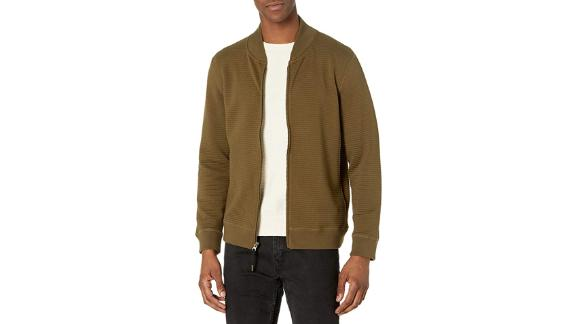 Billy Reid Quilted Knit Bomber Jacket