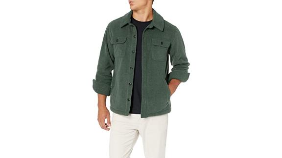 Amazon Essentials Polar Fleece Shirt Jacket