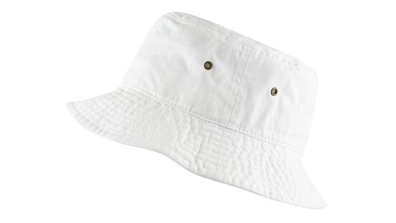 The Hat Depot 100% Cotton Packable Bucket Hat