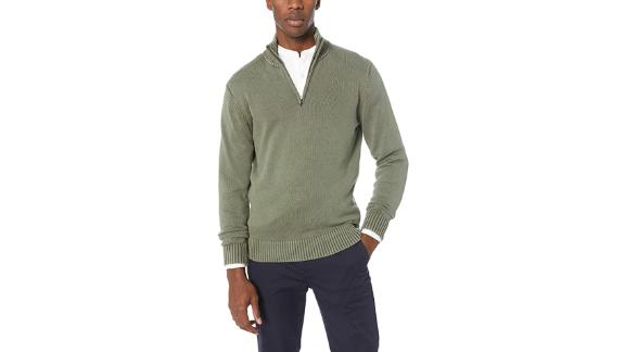 Goodthreads Soft Cotton Quarter Zip Sweater