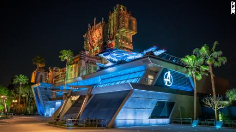 Avengers Campus opens on June 4, 2021, at Disney California Adventure Park in Anaheim, California. (Christian Thompson/Disneyland Resort)