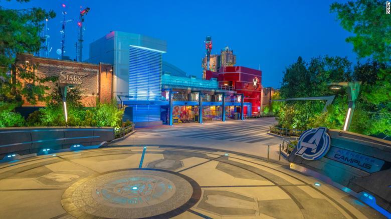 """""""Avengers Campus"""" will be based on Disney's Marvel franchise (Christian Thompson/Disneyland Resort)"""