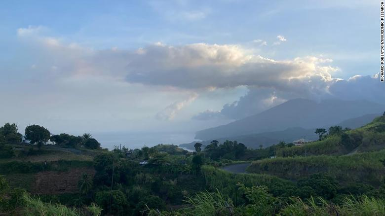 St. Vincent on red alert for 'imminent' volcanic eruption