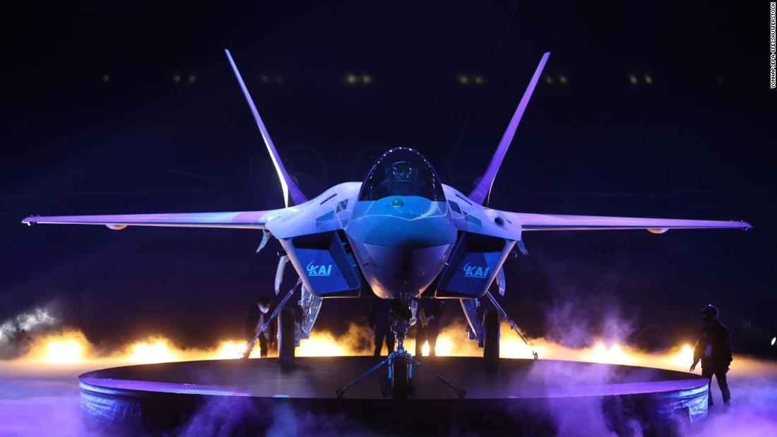 South Korea unveils KF-21 fighter jet, a cheaper alternative to the US-made F-35