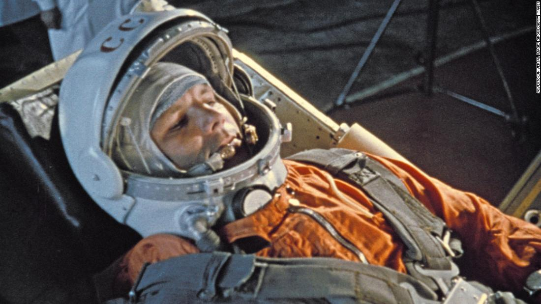 The Soviet cosmonaut who fueled the space race