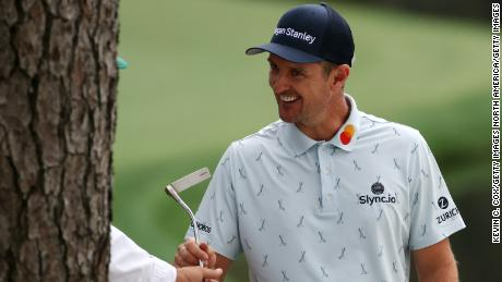 Justin Rose shot a stunning 65 in the opening round of the Masters.