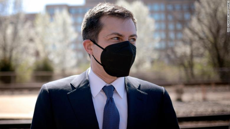 Pitchman Pete: Buttigieg steps into the spotlight to sell Biden's infrastructure plan
