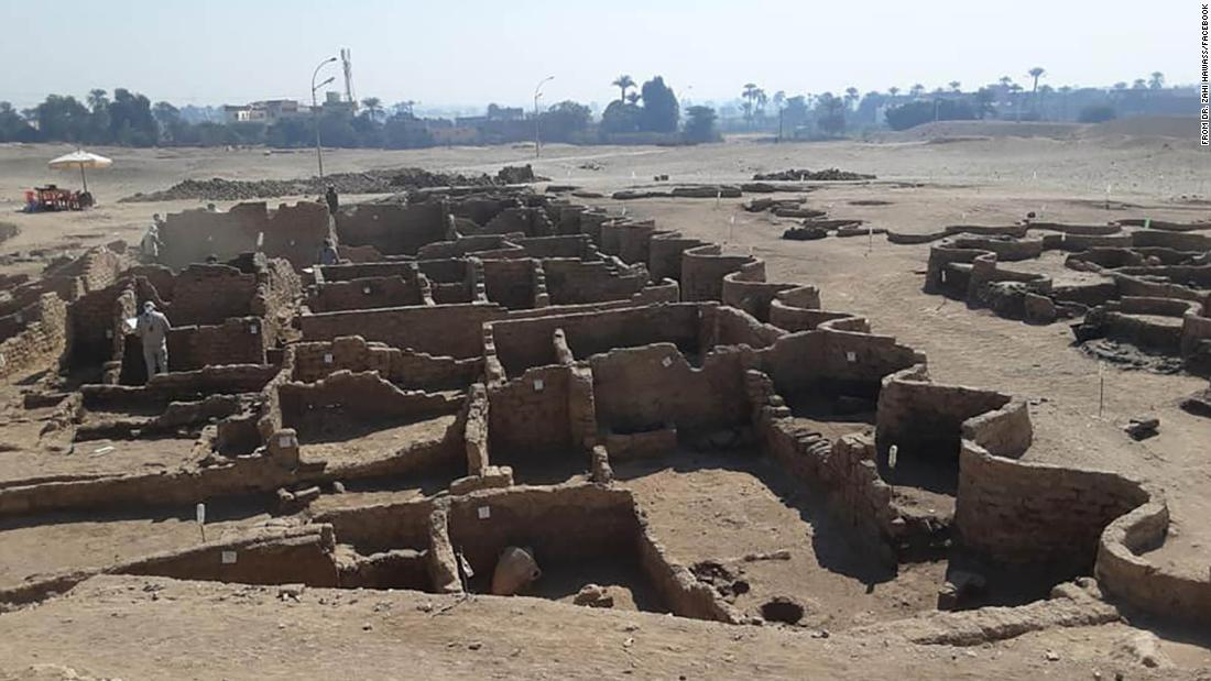 Archaeologists discover 3,000-year-old Egyptian city, left 'as if it were yesterday'