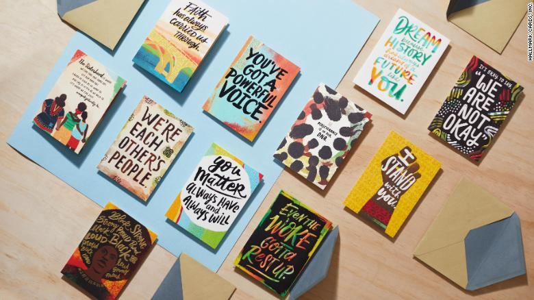 A group of Black female writers created a Hallmark card collection to inspire racial resilience