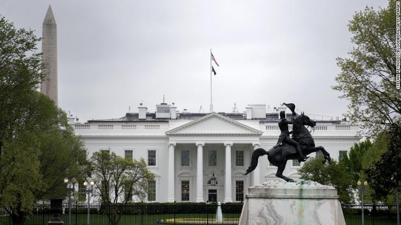POW/MIA flag returns atop the White House