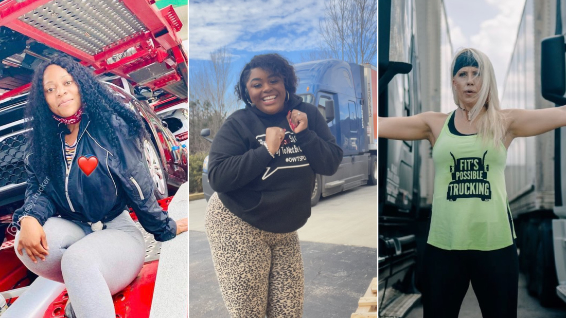 Female truckers have become TikTok influencers, and they're changing the transportation game