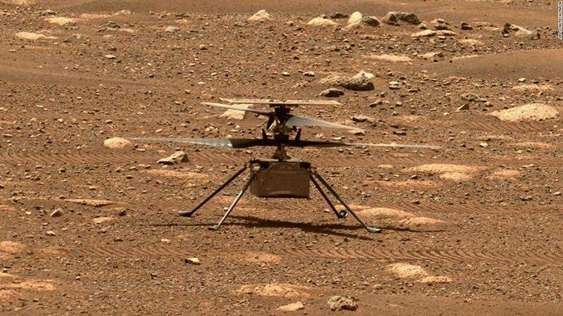 Ingenuity helicopter's first flight on Mars delayed – CNN