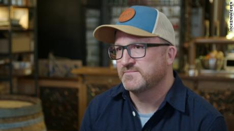 Doug Kouma, a former winemaker in Sonoma County, California, moved to Duluth in 2019. He now works at Vikre Distiller, which makes handmade spirits using water from Lake Superior.