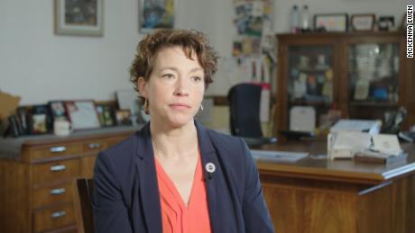 Emily Larson, mayor of Duluth, Minnesota
