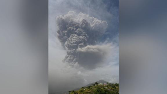 A second eruption of the La Soufriere volcano occurred at approximately 2:45pm local time, according to the UWI Seismic Research Centre.